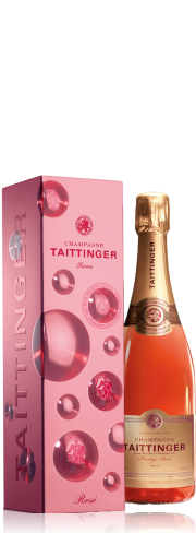 Taittinger. Coffret Prestige Rosé